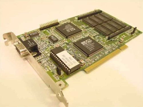 ATI PCI MACH64 109-25500-40 2 Video Card (1022555541)