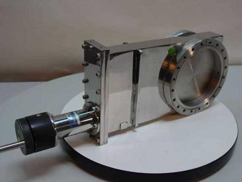 Airco Temescal 1610-6.0 GV  SS Six inch Manual Gate Valve
