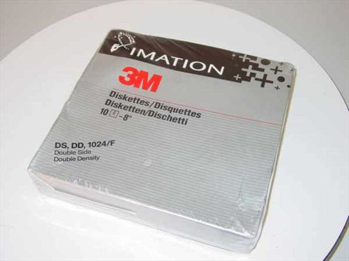 "3M / Imation 8"" Diskette  DS - DD- 1024/F Diskette"