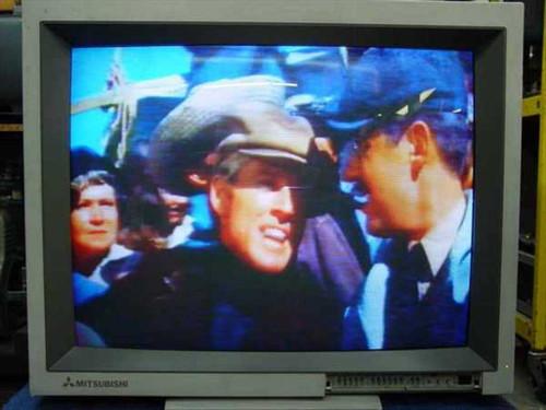 """Mitsubishi XC-3310C  33"""" Auto-Tracking Color Video Monitor"""