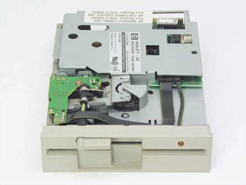 "HP 45812-60004  1.2 MB 5.25"" Flexible Internal Floppy Drive"