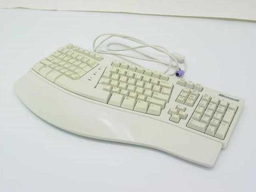 Microsoft 83718  Natural PS/2 Keyboard - E06401PS2