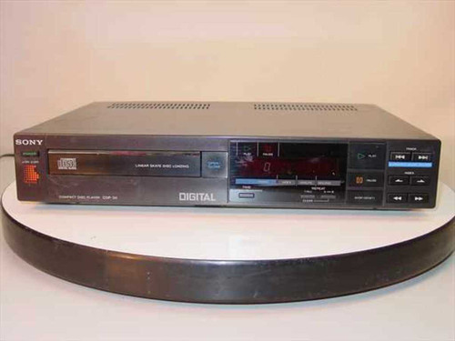 SONY CDP-30  Compact Disc Player