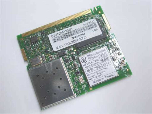 Toshiba PA3171U  Laptop Lan Card Mini-PCI 802.11b Wireless Card