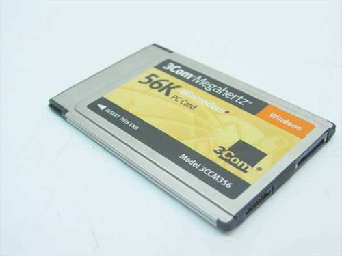 3COM 3CCM356  56K PCMCIA Card WinModem