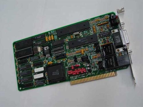 Racal 625-0174-00  8 Bit Network Card RJ45