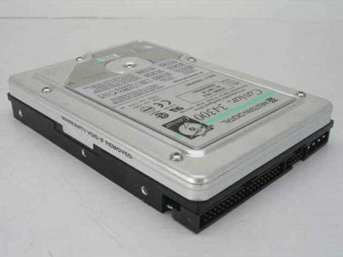 """Western Digital AC34300  4.3GB 3.5"""" IDE Hard Drive"""