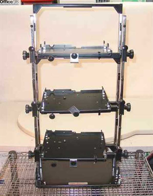 Chief MSU-300  3-Tier Slide 3 Projector Stand Rack Mount - Adjust