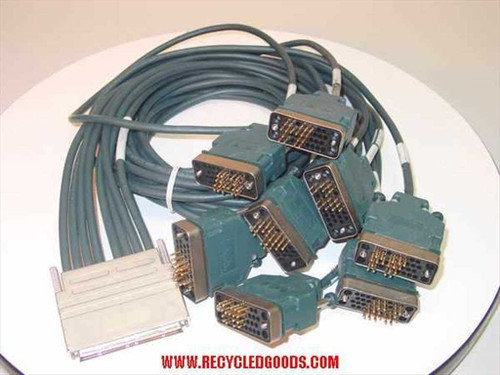 Cisco Systems CAB-OCT-V35-MT=  8 LEAD OCTAL CABLE & 8 MALE V35 DTE CONNECTORS