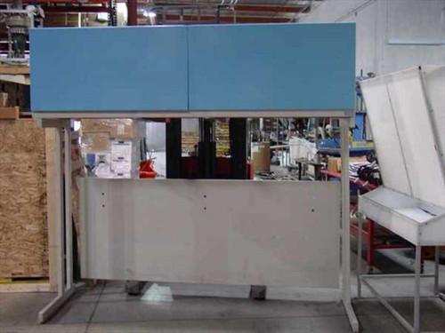 Flowstar 1343  8' Laminar Flow Hood & Frame - Vertical