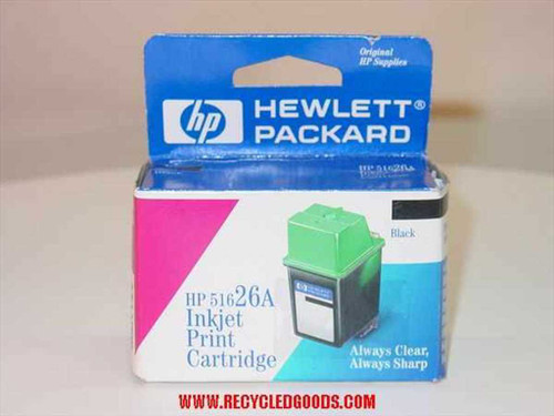 HP 51626A  Print Cartidge Black