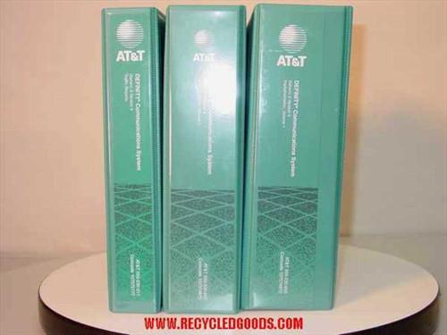 AT&T 555-230-655  Definity Com System Manuals Gen 3 Version 4 Implem