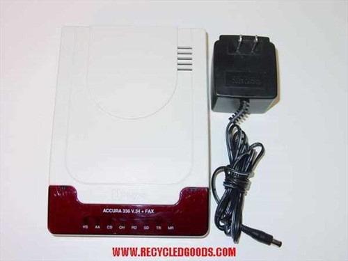 Hayes 5914US  External Accura 336 & FAX MODEM V.34