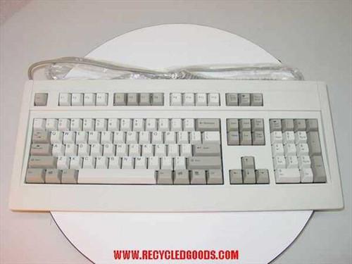 Fujitsu N860-4725-T201  FKB4725 Series FKB4725-201 PS/2 Keyboard