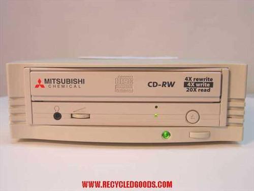 Mitsubishi CDRW-226  CD-RW SCSI External 4x4x20x