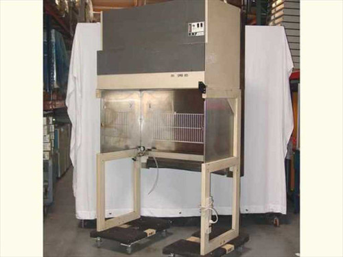 Envirco M424  4' Wide Vertical SS Fume Hood with Stand
