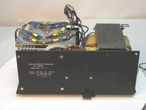 Chloride Electro Networks P-11245  DC Dual Output Power Supply 10 / 24 Volt