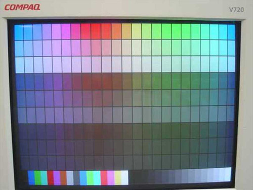 "Compaq V720  17"" SVGA Flat Screen Monitor 1600 x 1200"