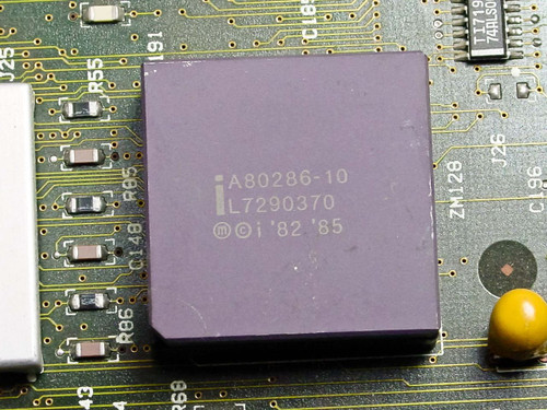 IBM 90X9159  8560 PS/2 System Board with Intel A80286-10 CPU