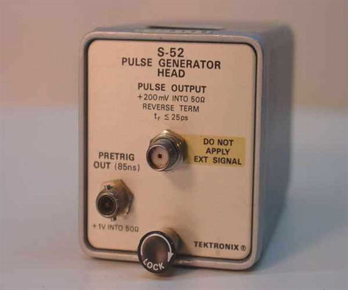 Tektronix S-52  Pulse Generator Head/7000 Series S52
