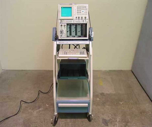 Tektronix 7854  Oscilloscope Version 04 Calculator/without Cart
