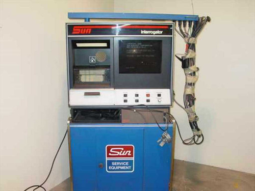 Sun Service Equip. 1850  Sun Interrogator Automotive Engine Analyzer