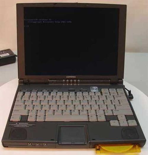 Compaq Armada 4160T  Intel P166 Laptop 16MB Ram 2.1GB HDD
