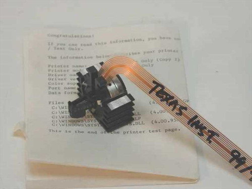 Texas Instruments 99/4  Dot Matrix Printhead 9 Pin