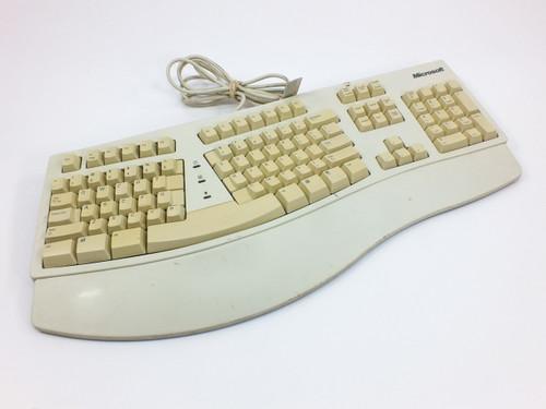 Microsoft 59758  Natural Keyboard - Yellowed Keys