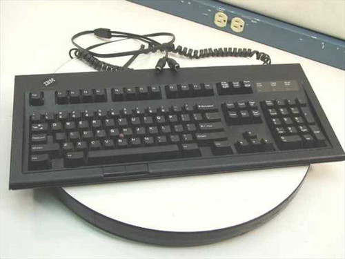 IBM 13H6710  Terminal Keyboard PN 13H6705 - Black