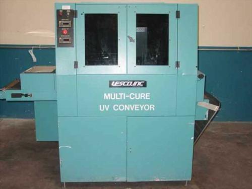 Lesco LCM-100  Multi-Cure UV Conveyor based UV Curing System