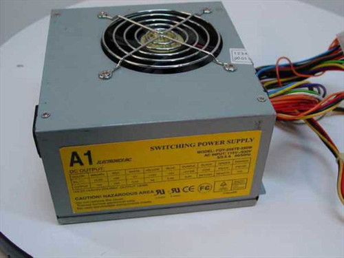 A1 Electronics FQY-206TE  250W ATX Power Supply