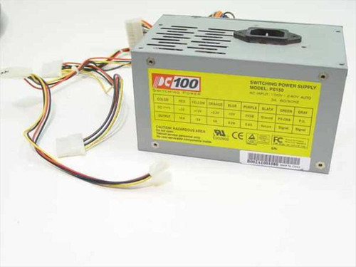 PC 100 PS150  150W ATX Power Supply