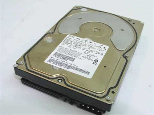 "IBM 9.1GB 3.5"" SCSI Hard Drive 68 Pin 25L1912"