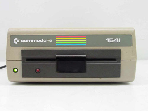 Commodore 1541  Commodore 64 Model 1541 External Disk Drive