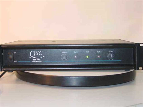 QSC MX 700  350 Watt 2U Rackmount Stereo Power Amplifier