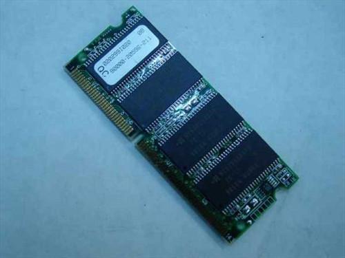 Hyundai HY57V658020  64MB PC66 SDRAM 3.3V Laptop Memoy