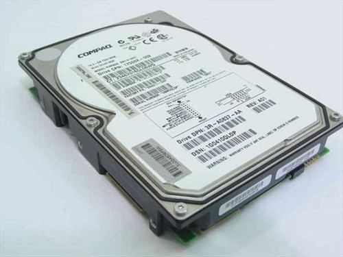 "Compaq 18.2GB 3.5"" SCSI Hard Drive 80 Pin - A0837 (175552-002)"