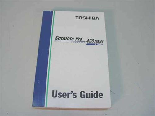 Toshiba Satellite Pro 420 Series  User's Guide