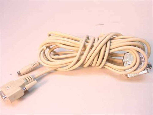 Custom Cable  DB15 Male to DB25 Male and PS2