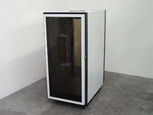 "Everest Electronic Equipment Enclosure  Rackmount Enclosure 24U Half-Height 19"" Cabinet"