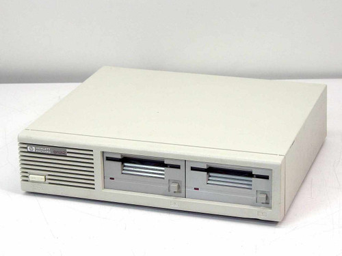 "HP 9122D  External 3.5"" Dual Floppy Drive HP-IB"