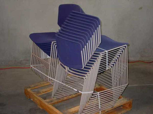 Steelcase 472410  Steelcase Max Stacker Chairs - Lot of 22