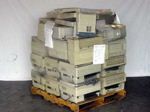HP Printers  Pallet 16 Printers for Container Shipment