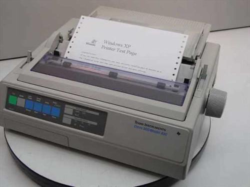 Texas Instruments 830  Omni 800 / Model 830 Dot Matrix Printer