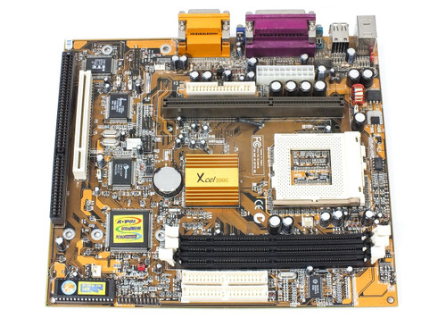 PC Chips M741LMRT Slot 1 / Socket 370 Motherboard Xcel 2000 Chipset with ISA