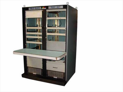 TBLO F817175-1  Rack Mount Cabinet Work Area Cabinet on Wheels
