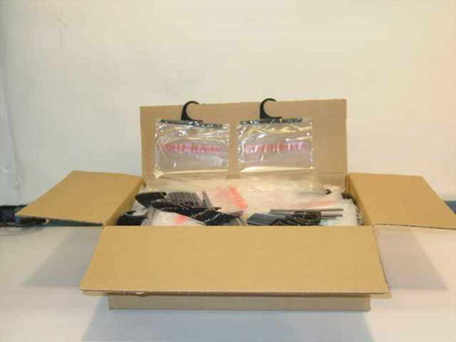 Contemporary 012668  Box of 800 Plastic Bags with Hanger Hook