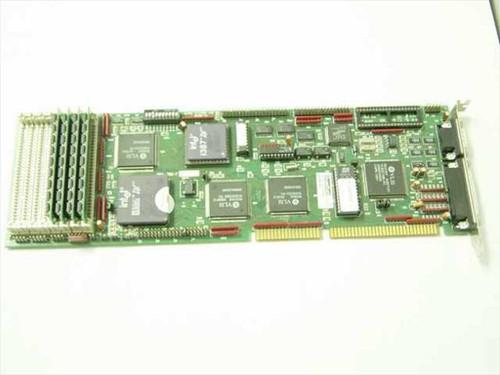 SMC Quadtel board  16Bit ISA Processor card
