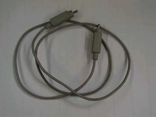 Apple RCA  RCA Banana Plug Composite Video Cable - Monitor